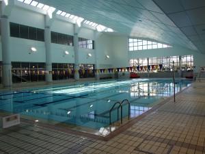甲の原体育館プール
